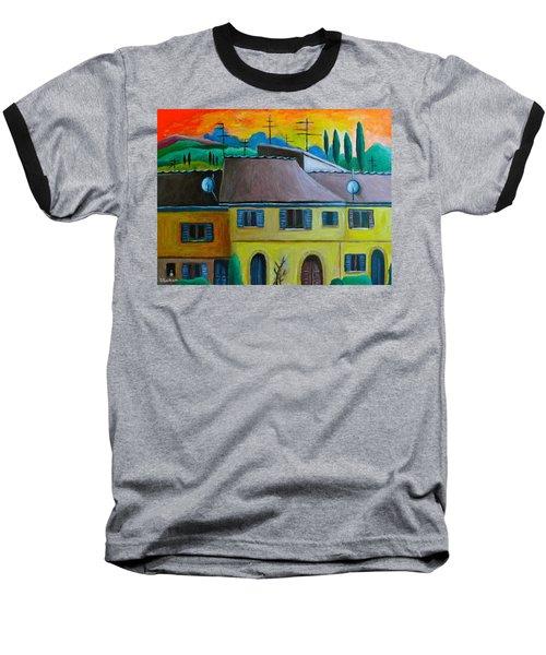 Ancient Volterra Wired Baseball T-Shirt