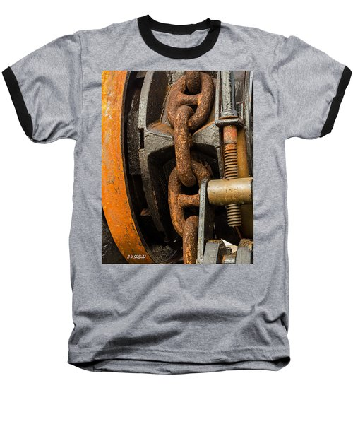 Anchor Chain - Tall Ship Elissa Baseball T-Shirt