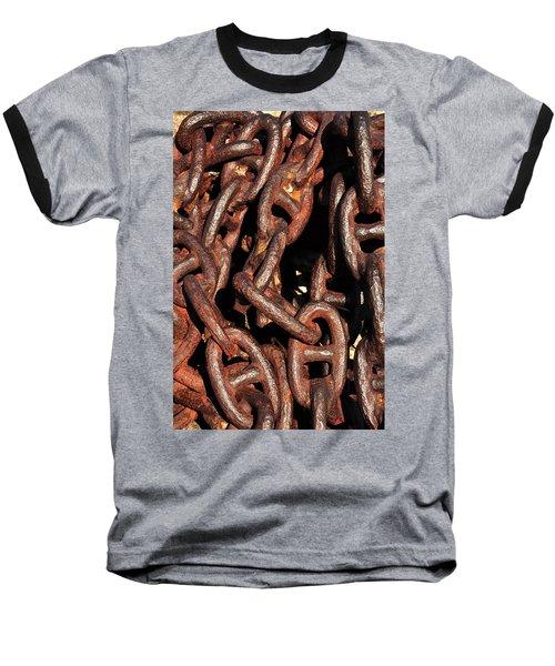 Anchor Chains Baseball T-Shirt