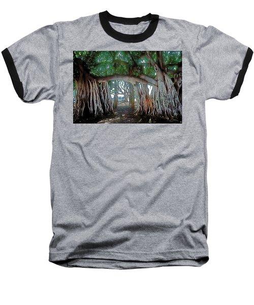 Ancient Arch Baseball T-Shirt by Terry Reynoldson