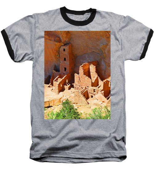 Ancient Dwelling Baseball T-Shirt