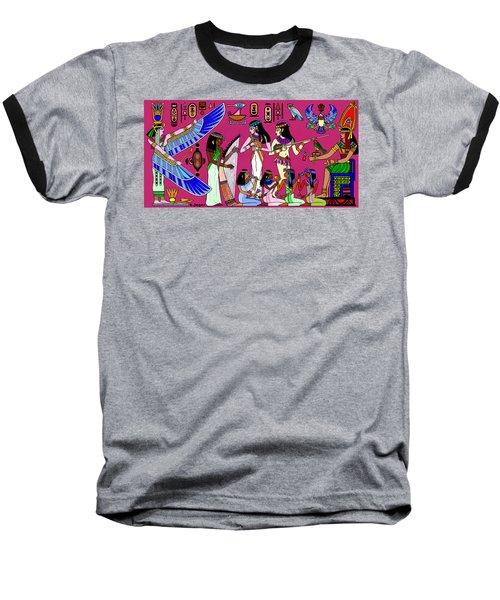 Ancient Egypt Splendor Baseball T-Shirt