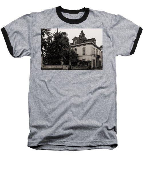 Ancient Hotel And Lush Trees  Baseball T-Shirt