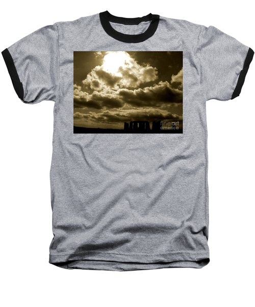 Baseball T-Shirt featuring the photograph Ancient Mystery by Vicki Spindler