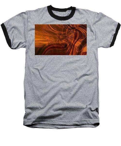 Baseball T-Shirt featuring the digital art Ancient by Richard Thomas