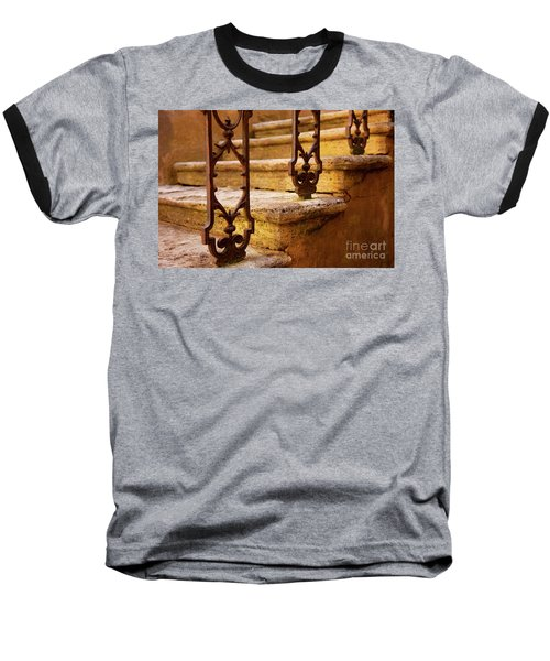 Ancient Steps Baseball T-Shirt