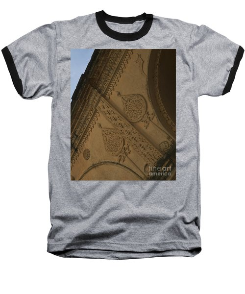 Baseball T-Shirt featuring the photograph Ancient Wall by Mini Arora