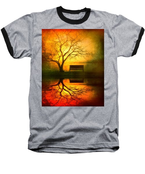 And I Will Wait For You Until The Sun Goes Down Baseball T-Shirt