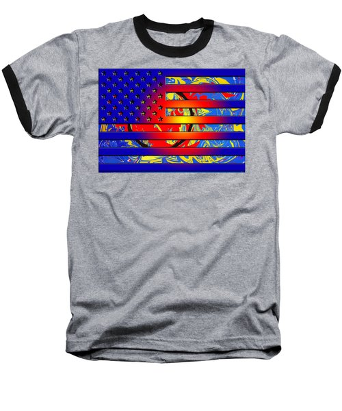 And The Flag Still Stands Baseball T-Shirt