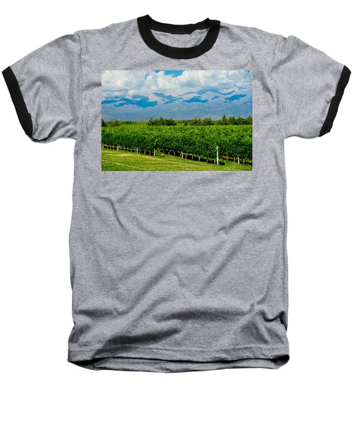 Andes Vineyard Baseball T-Shirt