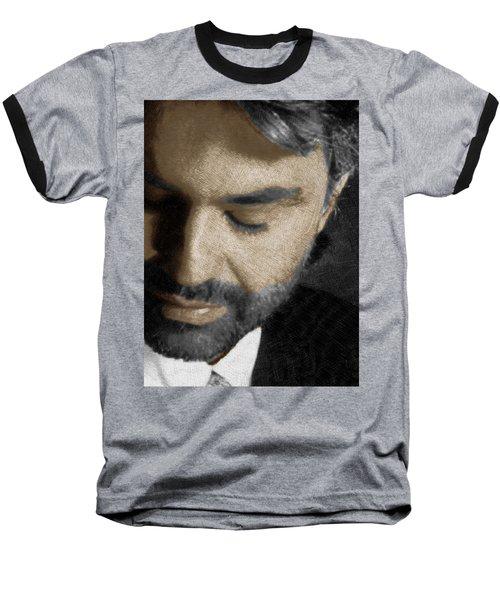 Andrea Bocelli And Vertical Baseball T-Shirt