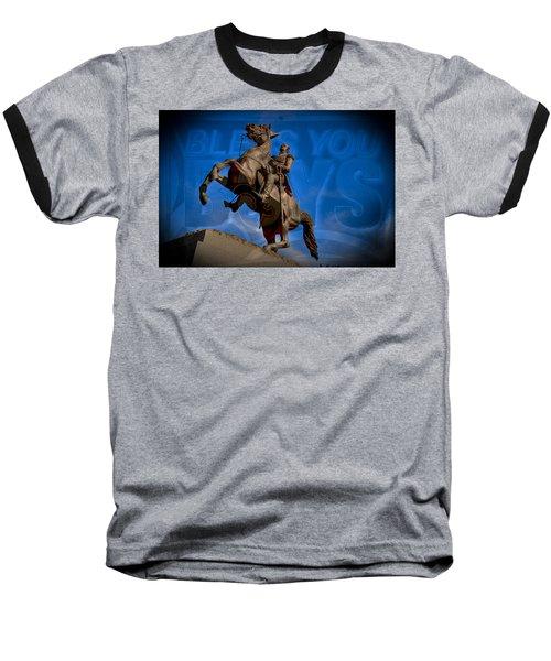 Andrew Jackson And New Orleans Saints Baseball T-Shirt