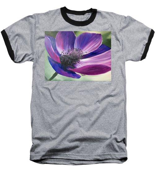 Anemone Coronaria Baseball T-Shirt