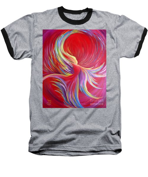 Angel Dance Baseball T-Shirt