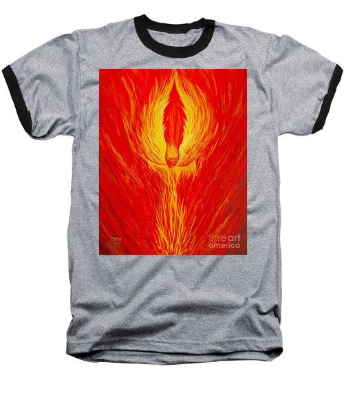 Angel Fire Baseball T-Shirt