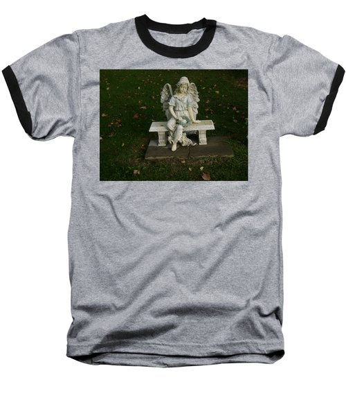 The Angel Is Watching Over Baseball T-Shirt