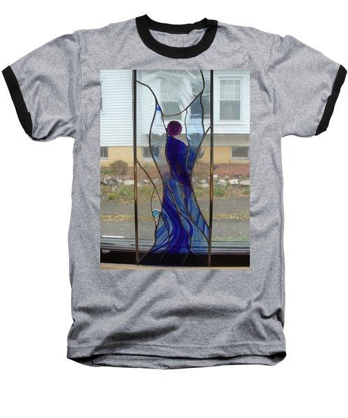 Angel  Baseball T-Shirt by Karin Thue