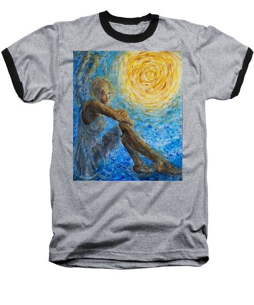 Angel Moon II Baseball T-Shirt