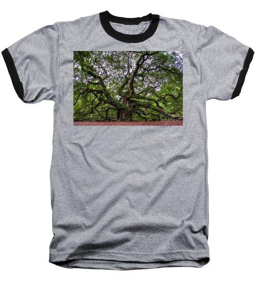 Angel Oak Tree Baseball T-Shirt