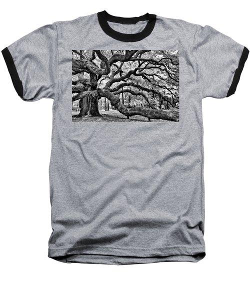 Angel Oak Tree Ir Hdr Baseball T-Shirt
