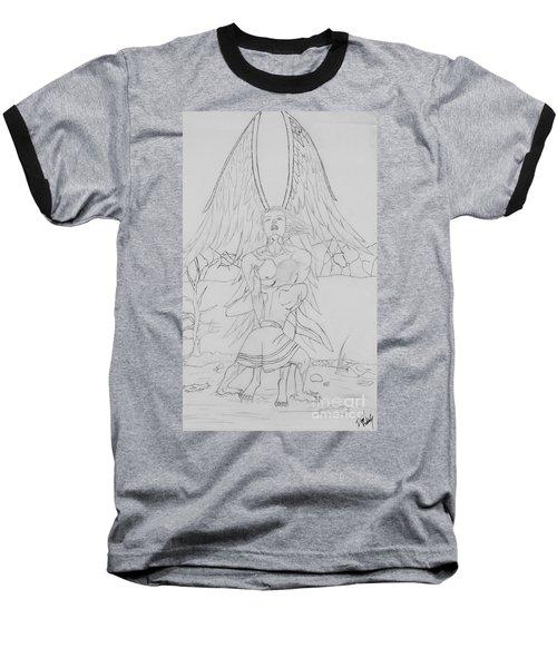 Angel Of God Struggle Baseball T-Shirt