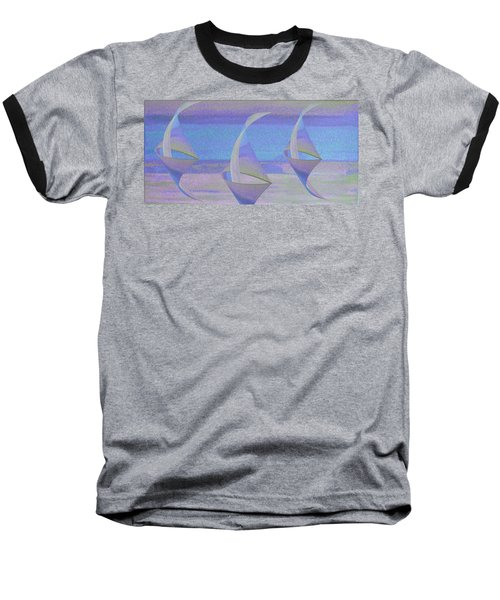 Angelfish3 Baseball T-Shirt