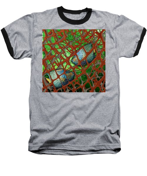 Angels Caught In An Emerald Pool Baseball T-Shirt