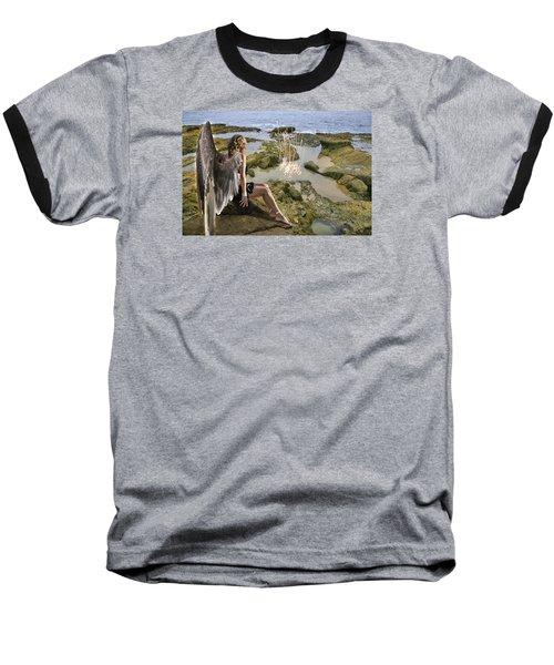 Angels- His Spirit Will Comfort You Baseball T-Shirt