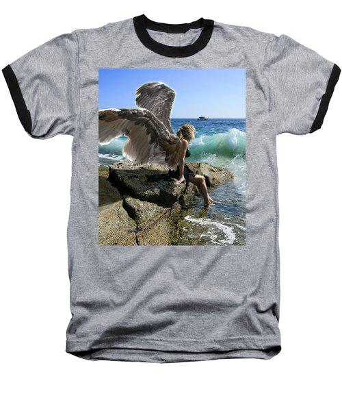 Angels- I'm Watching Over You Baseball T-Shirt