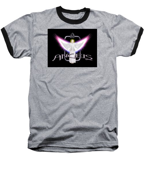 Angels Baseball T-Shirt by Scott Ross