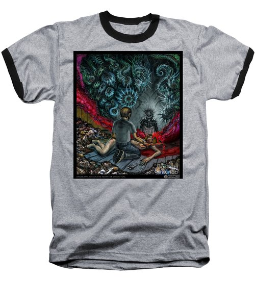 Anger Only Feeds The Monster Inside You Baseball T-Shirt