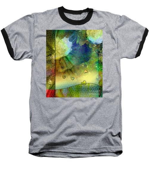 Baseball T-Shirt featuring the painting Angiospermae by Allison Ashton