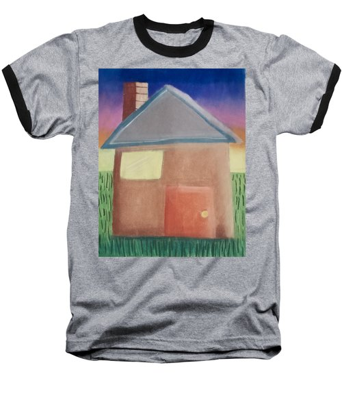 Home Sweet Home Baseball T-Shirt by Joshua Maddison