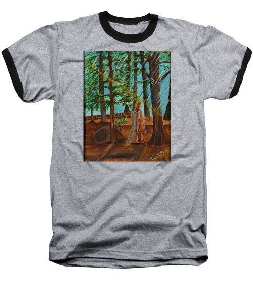Angle In Idyllwild Baseball T-Shirt by Cassie Sears