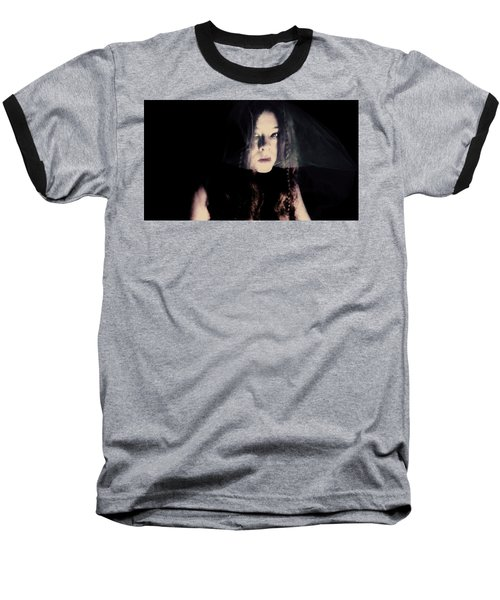 Baseball T-Shirt featuring the photograph Angry With You  by Jessica Shelton