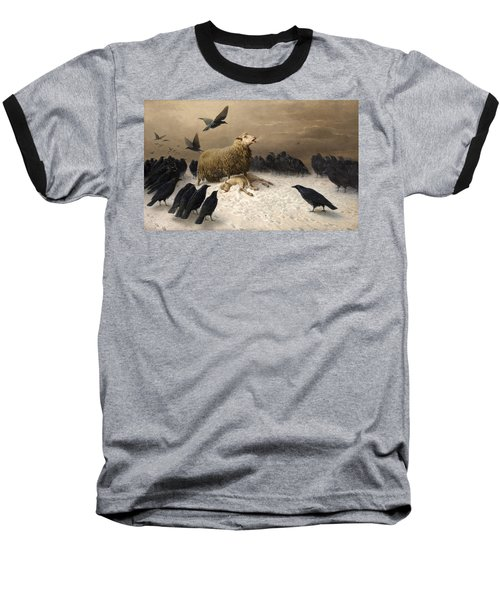 Anguish Baseball T-Shirt