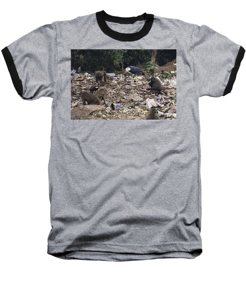 Animals Scavenging A Dump Baseball T-Shirt