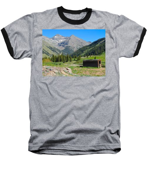 Animas Forks Jail Baseball T-Shirt
