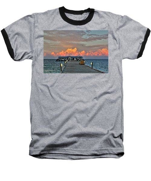 Anna Maria City Pier Baseball T-Shirt