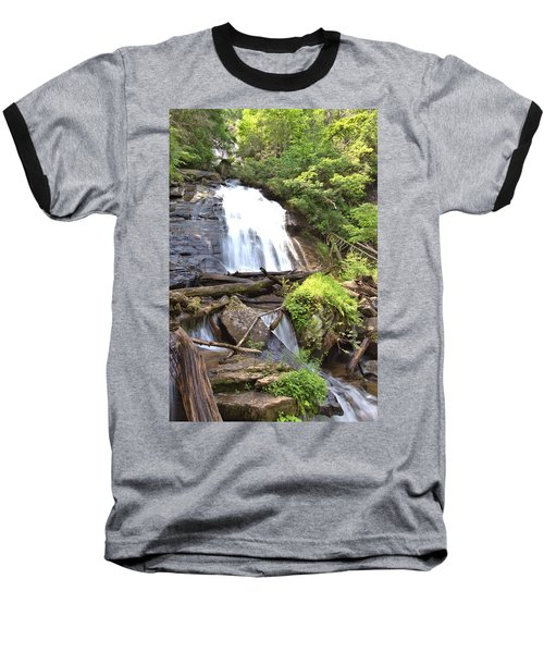 Anna Ruby Falls - Georgia - 4 Baseball T-Shirt