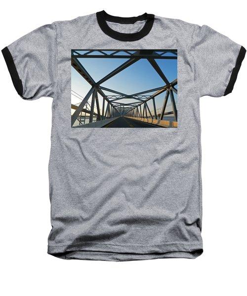 Annapolis Bay Bridge At Sunrise Baseball T-Shirt by Emmy Marie Vickers