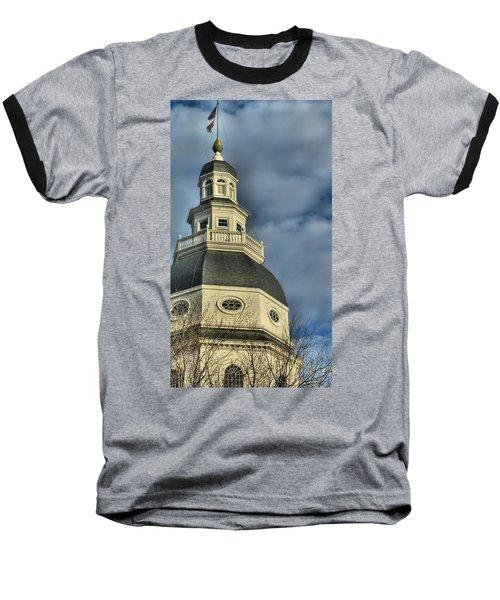 Annapolis Statehouse Baseball T-Shirt
