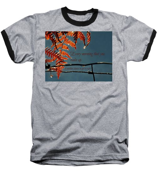 Another Chance Baseball T-Shirt