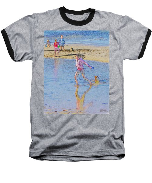Another Day At The Beach Baseball T-Shirt