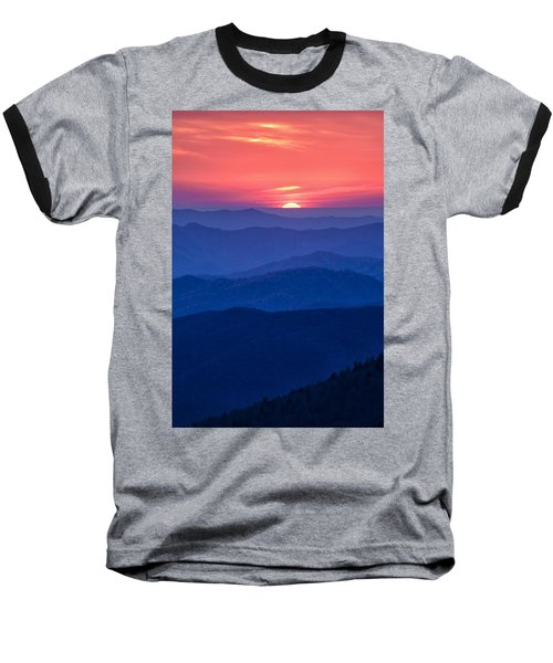 Baseball T-Shirt featuring the photograph Another Day Ends by Andrew Soundarajan