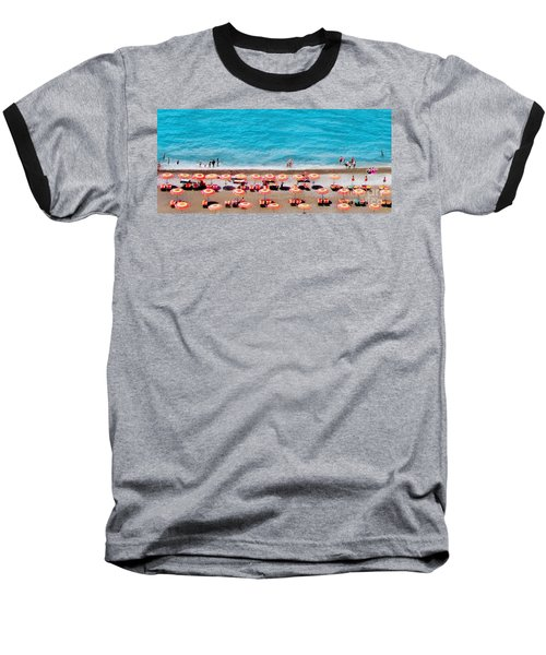 Another Day In Paradise-positano-digitized Baseball T-Shirt