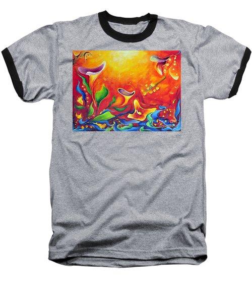 Another Dream Baseball T-Shirt by Teresa Wegrzyn
