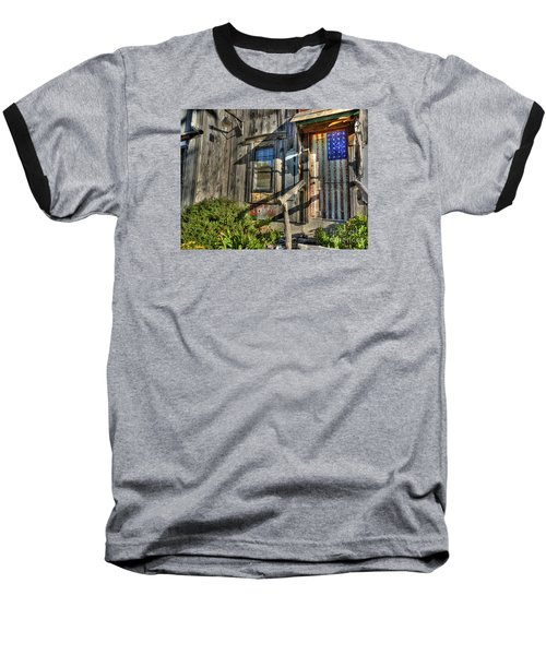 Another Faded Glory Baseball T-Shirt by William Fields