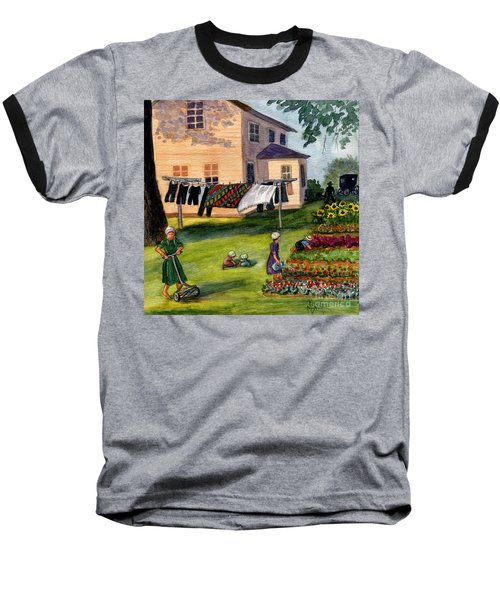 Another Way Of Life II Baseball T-Shirt by Marilyn Smith