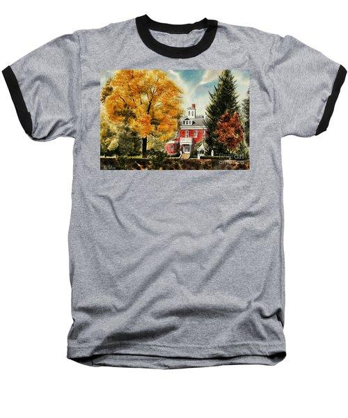 Antebellum Autumn II Baseball T-Shirt